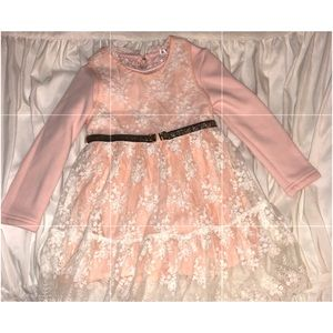 Other - Pink lace little girls dress
